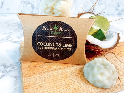 Coconut & Lime Beeswax Melts