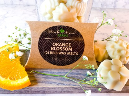 Orange Blossom Beeswax Melts