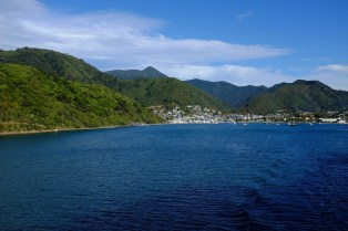 Leaving Picton, South Island