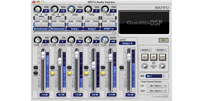 audio express 4