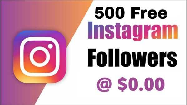 500 instagram followers free