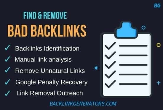remove bad backlinks