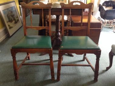 Edwardian chairs