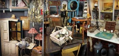 Rustic vintage furniture