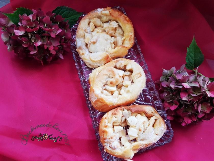 Apfel Marzipan