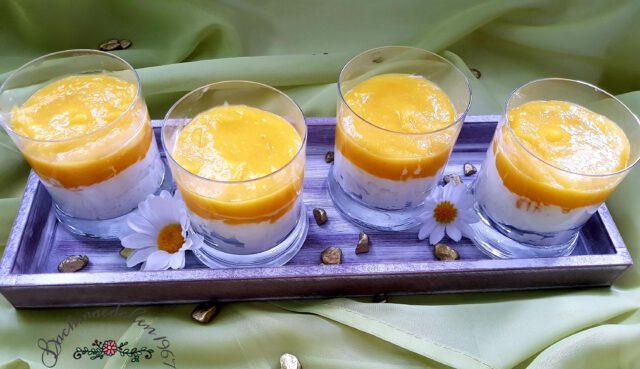 Mango-Kokos-Dessert