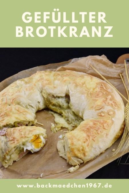 gefüllter Brotkranz