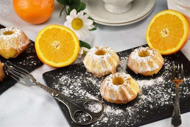 Mini Orangen Gugelhupf