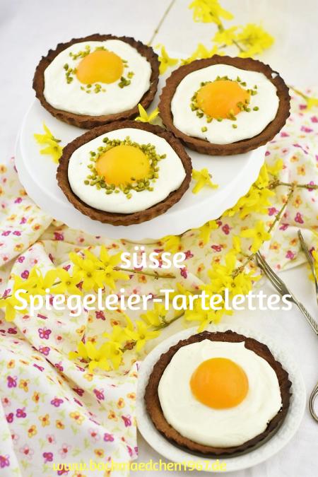spiegeleier Tartelettes Ostern