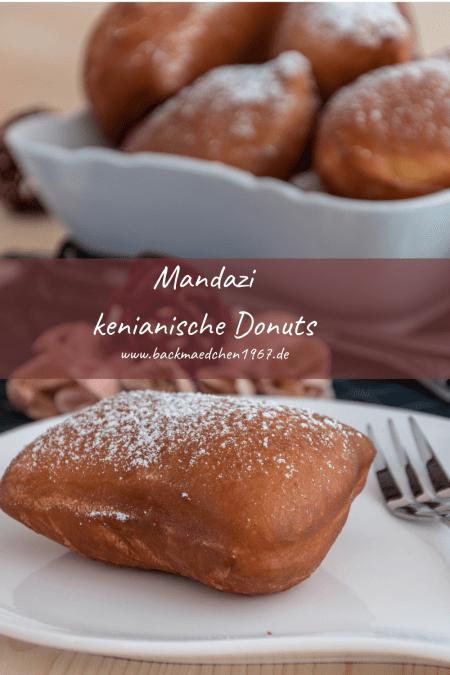 Mandazi kenianische Donuts
