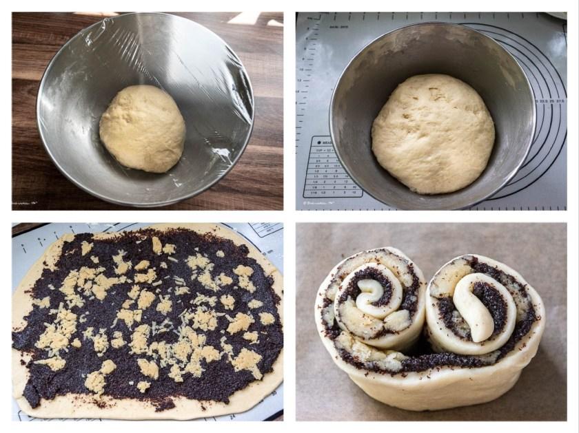 Mohnschnecken wie vom Bäcker