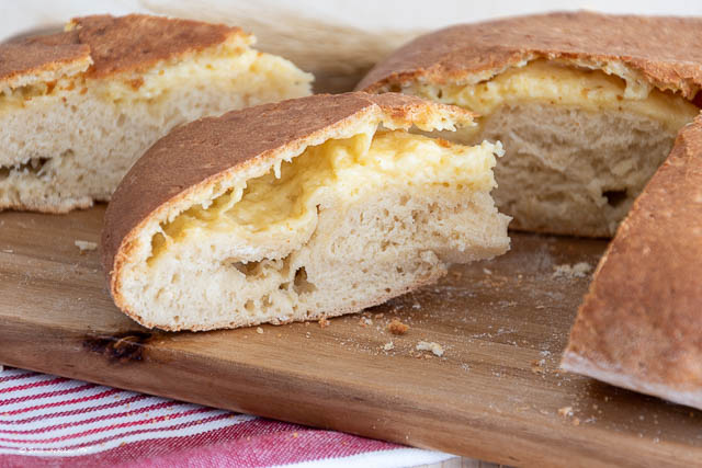 Brot mit wenig Hefe