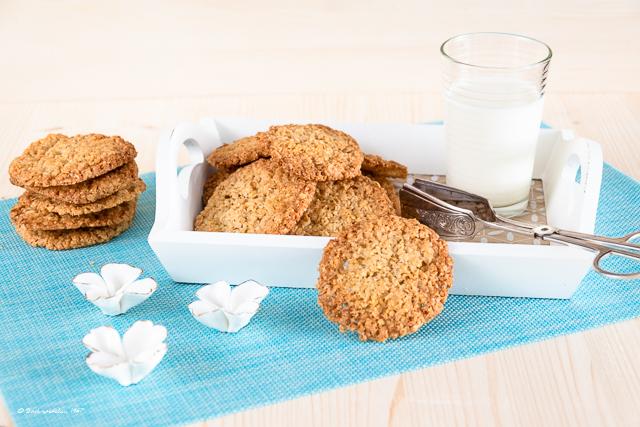 Kekse mit Haferflocken