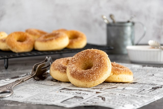 Cinnamon Donuts Zimt Donuts