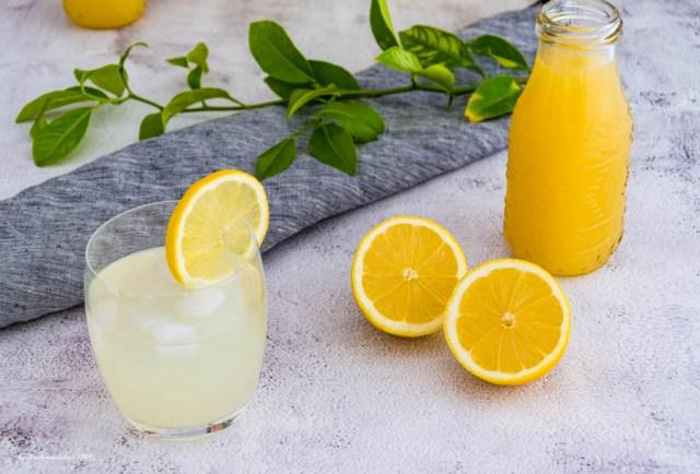 Zitronensirup selbst gemacht