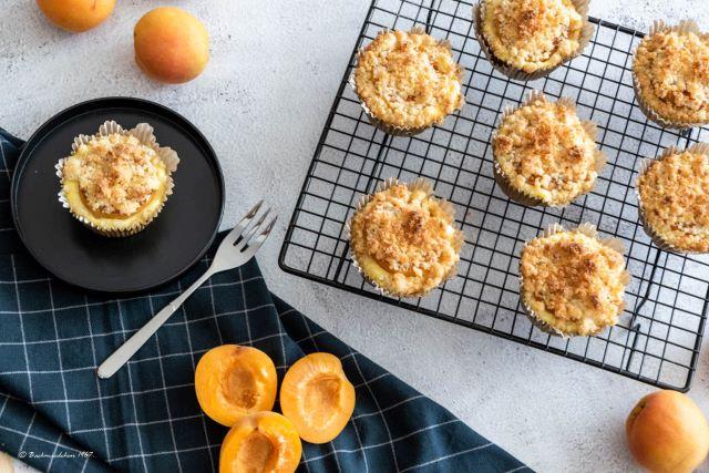 Aprikosen Käsekuchen Muffins