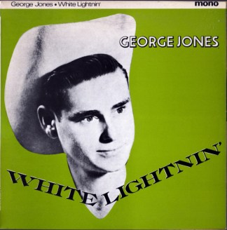 "10 "" LP George Jones White Lightning"