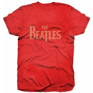 Beatles Rhinestone drop T t-shirt S