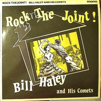 """10"""" LP Bill Haley & his comets Rock the joint!"""