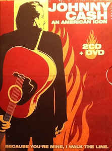 2 cd + DVD Johnny Cash - an american icon