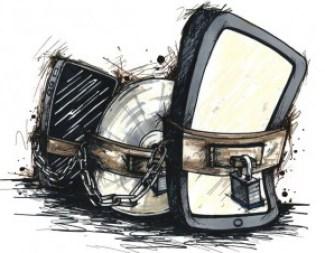 Image: Locked up technology