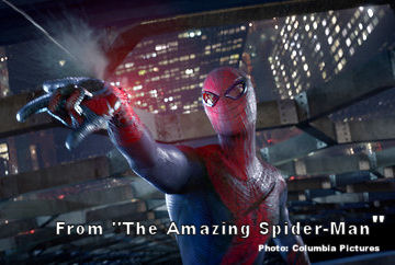 """Image: Scene from """"The Amazing Spider-Man"""""""