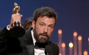 """Ben Affleck accepts Oscar for """"Argo"""""""