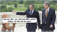 Tony Clement with Harper