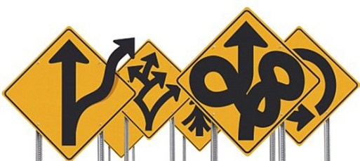 Crazy traffic signs