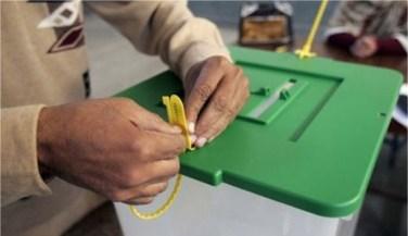 Sealing ballot box