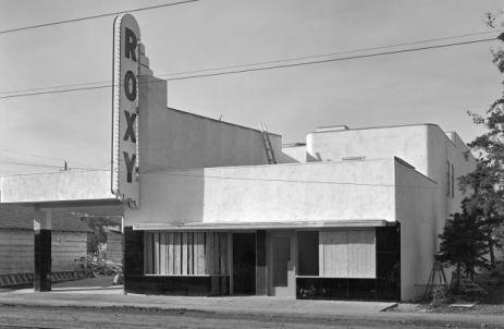 Roxy Theatre under construction, 1938