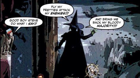 Cartoon: Crosby and Harper