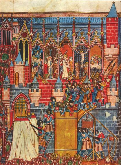 Painting of Siege of Jerusalem