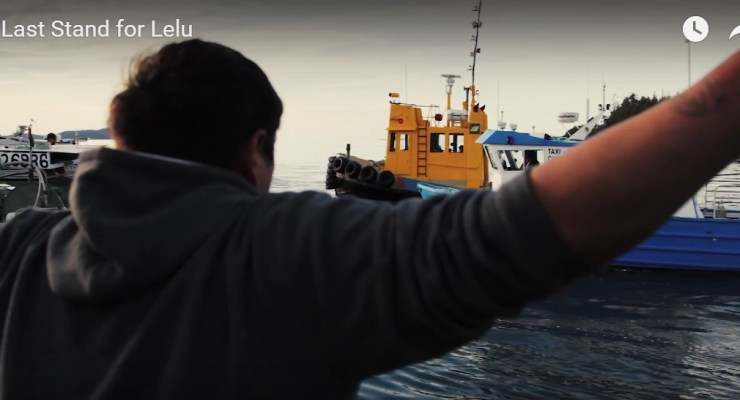 First Nations defending Lelu Island
