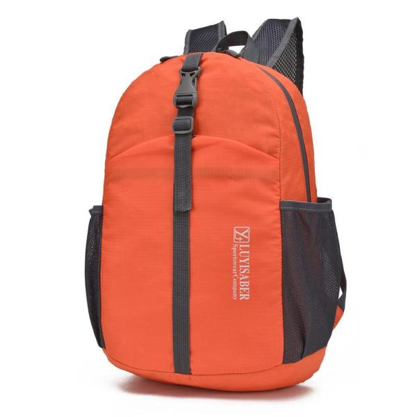 Foldable Waterproof Lightweight Climbing Outdoor Sports Backpack Backpack Orange