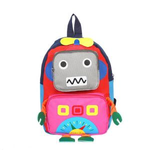 3D cartoon Children's backpack for school Backpack Pink