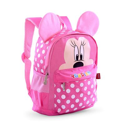 Mickey's school Small backpack for boys and girls Backpack Pink