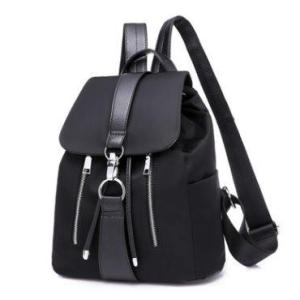 Fashion multi-function women backpack Backpack Black