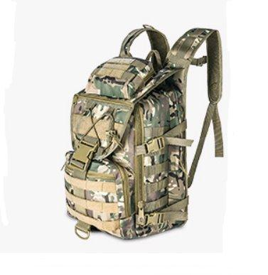 Outdoor multi-function waterproof Camouflage backpack Backpack CP camouflage