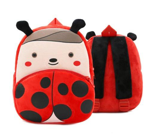 Children small school animal backpack Backpack Ladybird