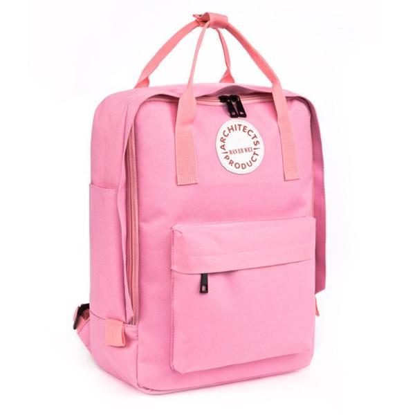 New fashion Men and Women School Backpack Backpack Pink