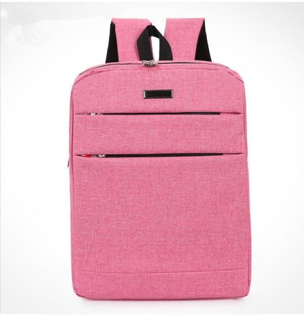 Business Laptop backpack casual unisex Backpack Pink
