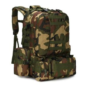 Outdoor Camouflage Tactical Travel Bacpack Backpack Jungle camouflage