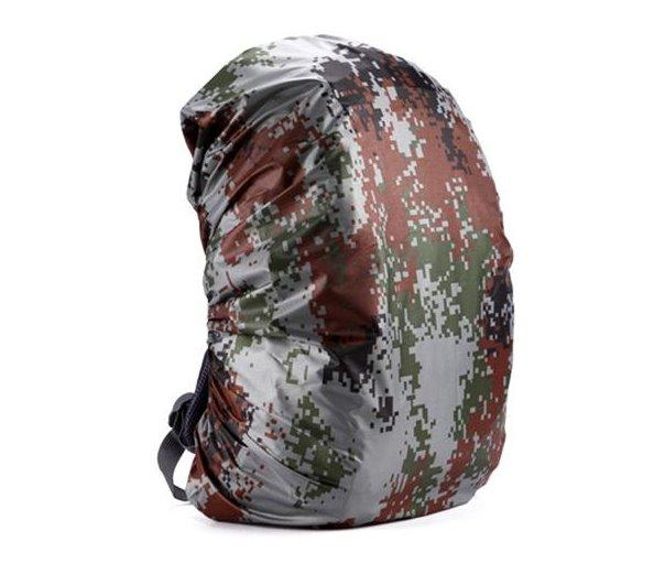 Waterproof Backpack Cover Accessories Digital Camouflage 55 60L