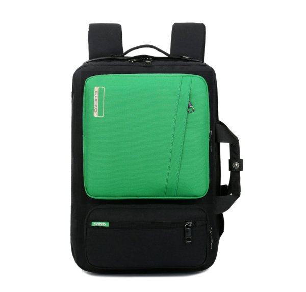 Men and Women Anti-theft Laptop backpack Backpack Green 17 inches