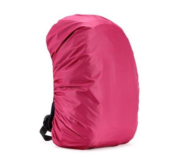 Waterproof Backpack Cover Accessories Rose Red 70L