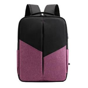 Dragon cloth casual handbag 15.6 Laptop backpack Backpack Violet