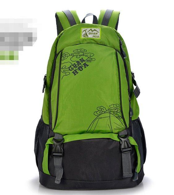 Large capacity outdoor leisure Sports backpack Backpack Green