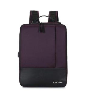 Men's Business USB Charging Laptop Backpack Backpack Violet