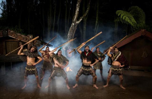 Tamaki Maori village rotorua new zealand